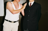 Pygmalion! 2003: Fotoshooting mit Paul Mittag, Junges Theater Beber