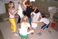 Pygmalion! 2003: Proben und Aufbau, Junges Theater Beber