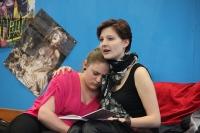 Rosa 2013 Generalprobe, Junges Theater Beber. Foto: Stefan Zawilla