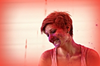 Wir sind ROSA: Fotoshooting (Junges Theater Beber 2013)