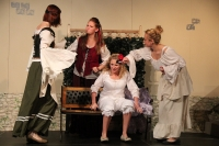 Viel Lärm um nichts 2014, Premiere in Beber. Foto: Stefan Zawilla, Junges Theater Beber