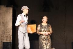 Mit dem Kopf durch die Wand 2019, Premiere in Beber. Foto: Stefan Zawilla, Junges Theater Beber