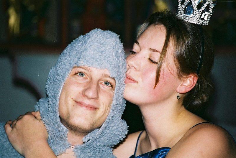 Ein Sommernachtstraum 2002: Titania und Zettel (Junges Theater Beber)