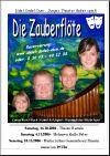 Junges Theater Beber 2006, Die Zauberflöte: Handzettel