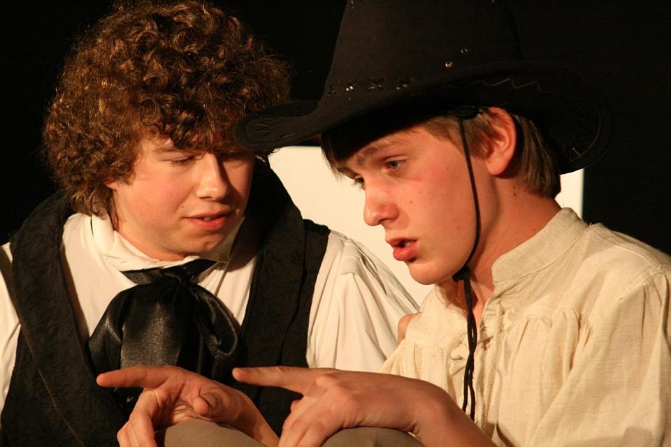 Lysander: Premiere, Junges Theater Beber 2009. Aufnahme: Christoph Huppert
