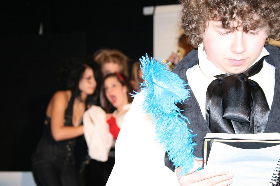 Lysander: Premiere, Junges Theater Beber 2009. Aufnahme: Stefan Zawilla