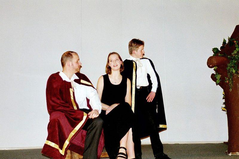 Don Pedro, Leonata, Claudio: Junges Theater Beber (Viel Lärm um nichts, 2001)