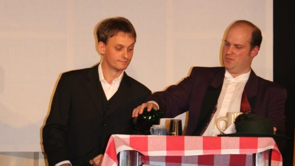 Prost Falstaff - Tischszene aus Die lustigen Weiber von Windsor 2008