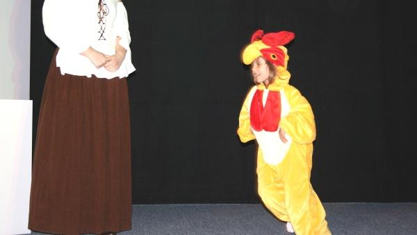 Lysander - das Hühnchen