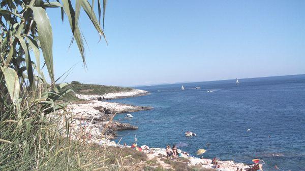 Südöstliche Küste von Istrien, nahe Krnica