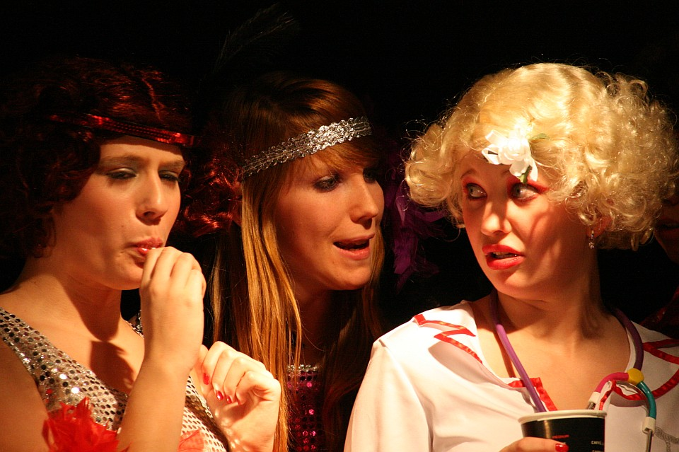 Der Patensohn: Premiere, Junges Theater Beber 2010. Foto: Christoph Huppert