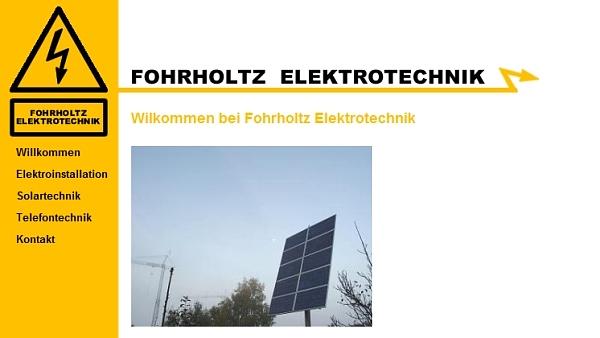 Didel-Dadel-Dum Sponsor Fohrholtz Elektrotechnik
