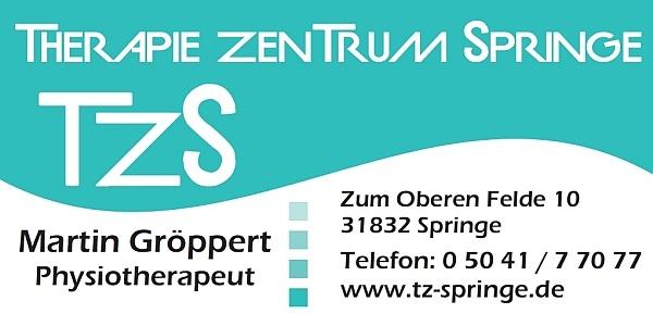 Therapiezentrum Springe - Sponsor des Jungen Theaters Beber