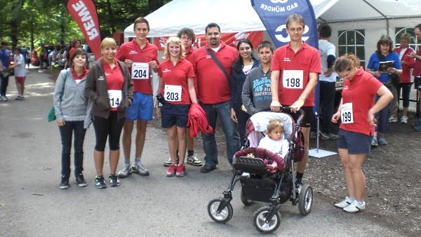 Söltjerlauf 2011: ein Teil des Didel-Dadel-Dum-Teams