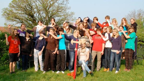 Grupenleitergrundkurs: Abschlussfoto, Osterferien 2011