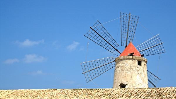 Junges Theater Beber: Titelmotiv für Don Quijote 2011, Hintergrund von Davide Restivo