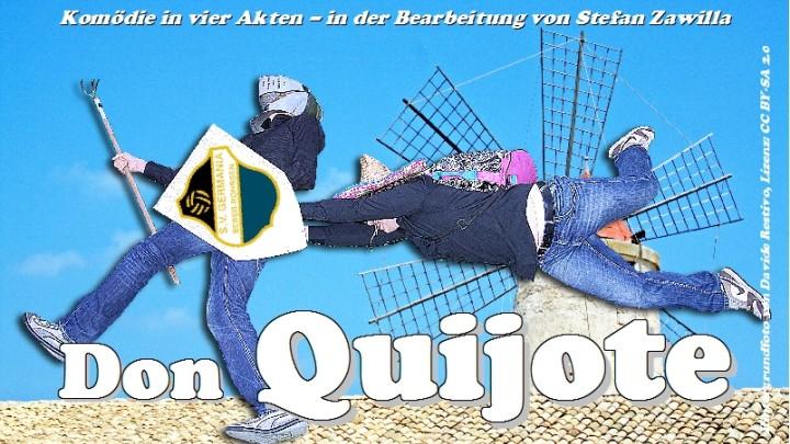 Junges Theater Beber: Titelmotiv Don Quijote 2011 mit Schriftzug