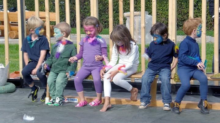 Vogelhochzeit im Kindergarten Beber
