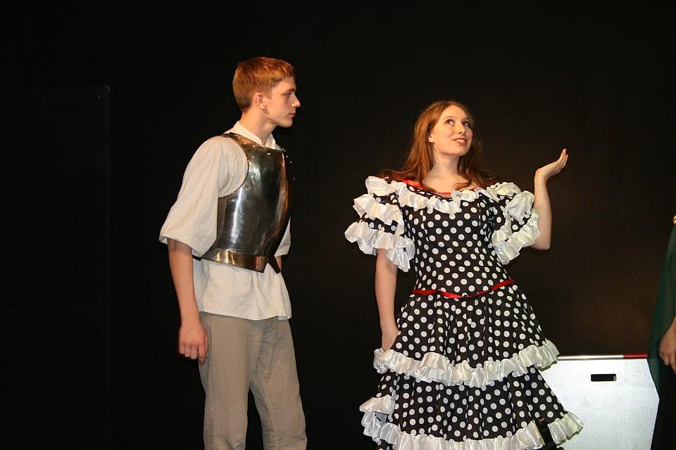 Don Quijote in der Bearbeitung von Stefan Zawilla. Foto: Junges Theater Beber 2011