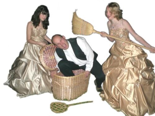 Junges Theater Beber 2007, Die lustigen Weiber von Windsor: Titelmotiv weiß