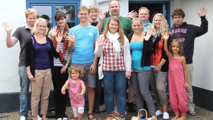 Junges Theater Beber: Gruppenbild Dänemark 2012