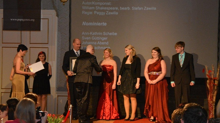Papageno Award 2013: Preisverleihung in Linz (Junges Theater Beber)