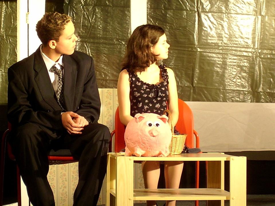 Das Sparschwein 2004: Premiere, Junges Theater Beber