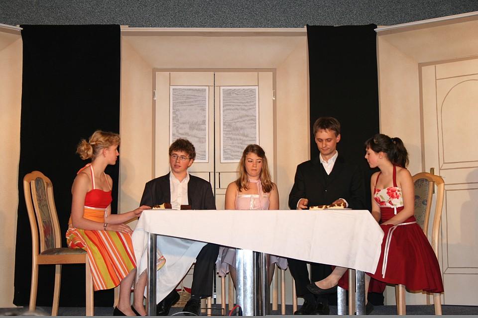 Die lustigen Weiber von Windsor, Premiere. Junges Theater Beber 2007