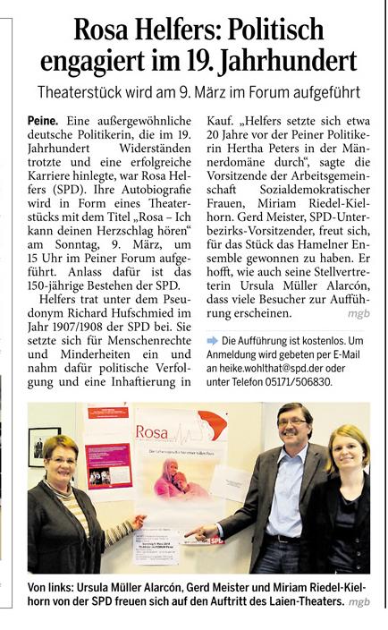 PAZ 25.02.2014 - ROSA