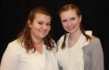 Neue Ehrenmitglieder: Saskia und Johanna