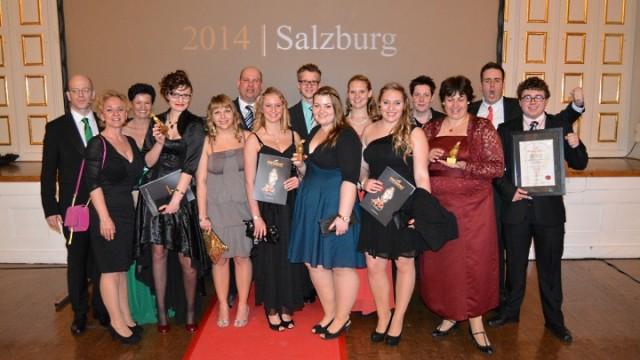 Papageno Award 2014 in Salzburg: Gruppenfoto Junges Theater Beber
