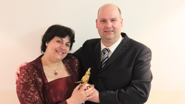 Papageno Award 2014 in Salzburg: Goldener Vogel für die Produktion Rosa (Junges Theater Beber)