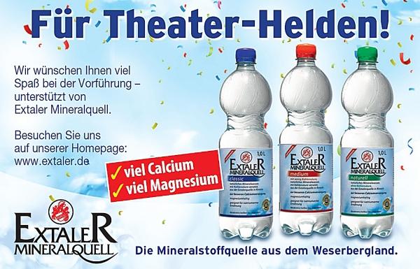 Sponsorenanzeige: Extaler - Für Theater-Helden!