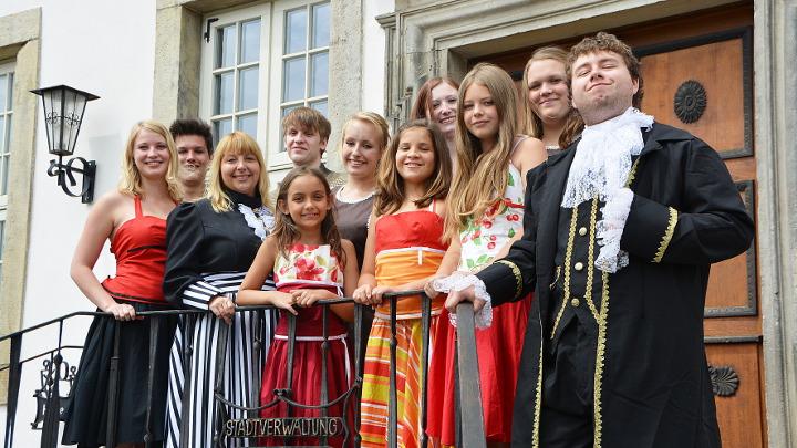 Die deutschen Kleinstädter: alternatives Titelmotiv (Junges Theater Beber 2015)