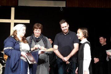 Ehrung Adara Fee (Junges Theater Beber 2017)