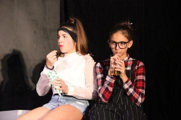 Irgendwie Irgendwann 2018: Curie und Zora. Foto: Stefan Zawilla, Junges Theater Beber